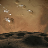 Phobos Orbits So Close to Mars That the Planet Would Fill the Little Moon&#39;s Sky
