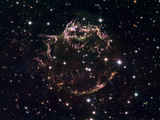 A Detailed View at the Tattered Remains of a Supernova Explosion known as Cassiopeia A