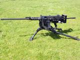 A Browning M2 50 Caliber Heavy Machine Gun