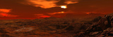 Panorama of a Landscape on Venus