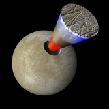 A Schematic Showing the Layers of Europa