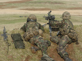 British Army Soldiers Participate in Sustained Fire Training