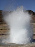 Eruption of Strokkur Geysir  Iceland