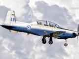 A Hellenic Air Force T-6 Texan II Prepares for Landing
