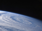 A High-Oblique View of the Extra-Tropical Unnamed Cyclone That Merged with Hurricane Earl