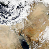 Satellite View of the Eastern Mediterranean