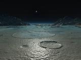 A Diminutive Sun Rises over Triton