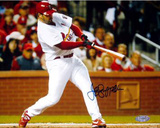 Jeff Suppan Autographed NLCS Game Three Home Run Photograph