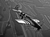 A P-51C Mustang in Flight