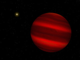 Artist&#39;s Concept of the Brown Dwarf Gliese 229 B