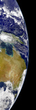 A Partial View of Earth Showing Australia and the Great Barrier Reef
