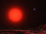 Gacrux  the Prominent Red Giant Star Located in the Constellation Crux