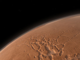 Mars' Valles Marineris Is Host to the Largest Canyons in the Solar System