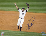 Alex Rodriguez Autographed 2009 WS Arms Raised Celebration Horizontal Photograph
