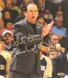 "Mike Brey ""Coach of the Year"" Signed by Matt Cashore Autographed Photo (Hand Signed Collectable)"