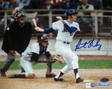 Art Shamsky Autographed New York Mets Swing Horizonta Photograph