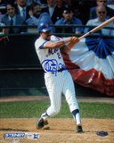 Cleon Jones Autographed New York Mets Swing Vertical Photograph