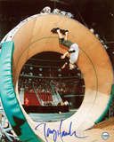 Tony Hawk - Skateboarding - 'Loop of Death' Autographed Photo (Hand Signed Collectable)