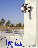 Tony Hawk - Skateboarding - Up The Wall Autographed Photo (Hand Signed Collectable)