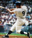 Ken Regan Autographed Roger Maris Swinging Vertical Color Photograph