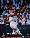 Carl Yastrzemski Autographed &quot;TC 67&quot; Swing Vertical Photograph - Signed By Photographer Ken Regan