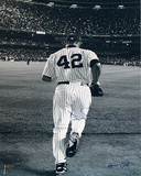 Mariano Rivera 2006 Entering The Game B&W Photo Signed By Anthony Causi