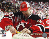 Martin Brodeur Cutting The Net Photo