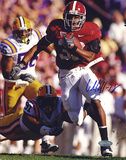 Glen Coffee Autographed Rush vs LSU Photograph