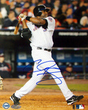 Cliff Floyd Two Run Home Run Vs Atlanta Autographed Photo (Hand Signed Collectable)