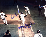 "Bill Buckner & Mookie Wilson Dual   Wilson ""10/25/86"" Autographed Photo (Hand Signed Collectable)"