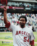 "Ervin Santana ""No Hitter 7/27/11"" Angels Autographed Photo (Hand Signed Collectable)"