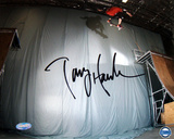 Tony Hawk - Skateboarding - 'Ollie Transfer' Autographed Photo (Hand Signed Collectable)