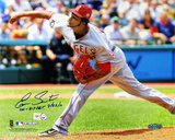 "Ervin Santana ""No Hitter 7/27/11"" Angels Pitching Autographed Photo (Hand Signed Collectable)"