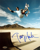 Tony Hawk - Skateboarding - Salt Flats Autographed Photo (Hand Signed Collectable)