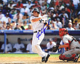 Ivan Rodriguez Autographed Yankees Horizontal Photograph