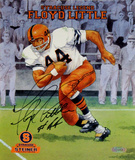 Floyd Little Syracuse Legend Poster Autographed Photo (Hand Signed Collectable)