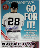 Joe Girardi Daily News Go For It! Print MLB Auth