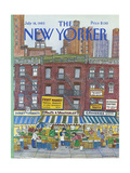 The New Yorker Cover - July 18  1983