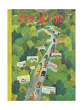 The New Yorker Cover - June 14  1947
