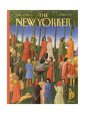 The New Yorker Cover - August 14  1989
