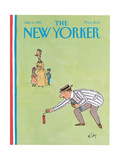 The New Yorker Cover - July 5  1982