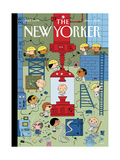 The New Yorker Cover - January 4  2010