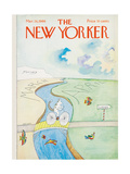 The New Yorker Cover - March 26  1966