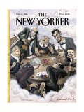 The New Yorker Cover - February 12  1996