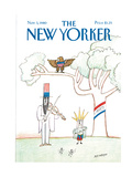 The New Yorker Cover - November 3  1980