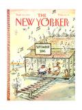 The New Yorker Cover - September 23  1991