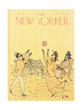 The New Yorker Cover - July 4  1977
