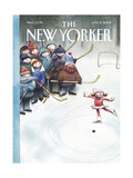 The New Yorker Cover - January 13  2003