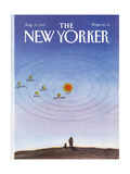 The New Yorker Cover - August 31  1987