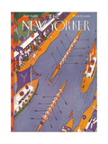 The New Yorker Cover - June 25  1927